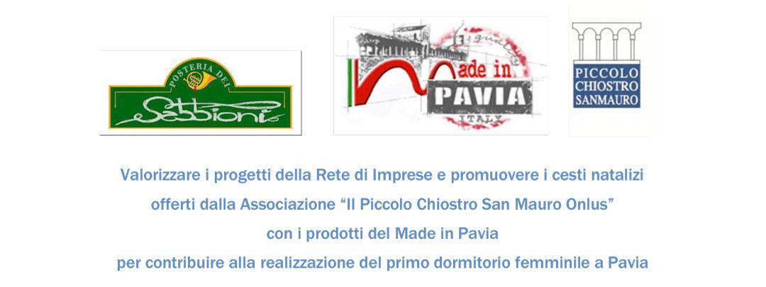 c525da644f88 Serata Made in Pavia Italy - Piccolo Chiostro San Mauro